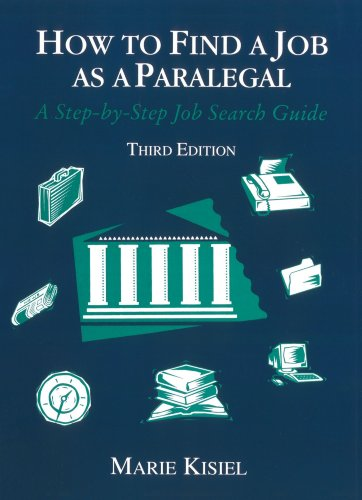 9780314067425: How to Find a Job as a Paralegal