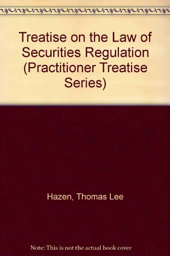 9780314068477: Treatise on the Law of Securities Regulation (Practitioner Treatise Series)