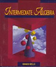 9780314068583: Intermediate Algebra