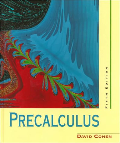 9780314069214: Cengage Advantage Books: Precalculus: A Problems-Oriented Approach