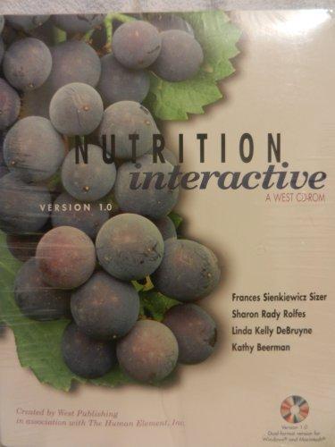 Nutrition Interactive CD-ROM : Sizer, Frances Sienkiewicz,