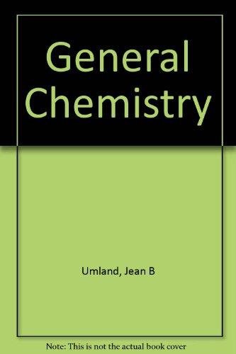 9780314093189: General Chemistry