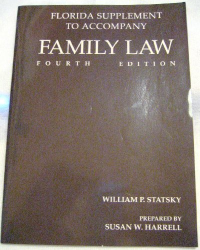 9780314096722: Family Law