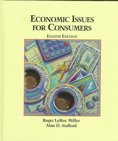 9780314097729: Economic Issues for Consumers :
