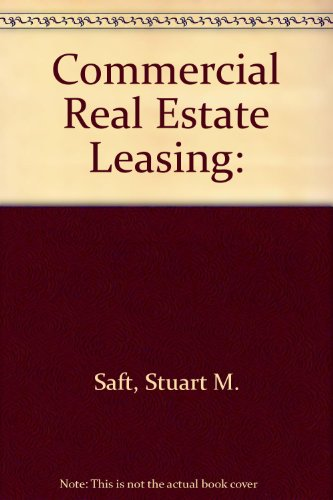 9780314118578: Commercial Real Estate Leasing: