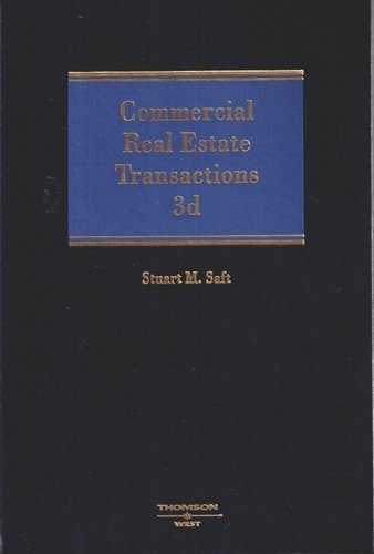 9780314118585: Commercial Real Estate Transactions