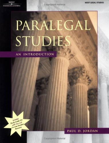 9780314127235: Paralegal Studies: An Introduction (Paralegal Series)