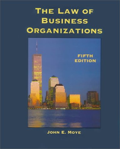 9780314128065: The Law of Business Organizations (West Legal Studies Series)