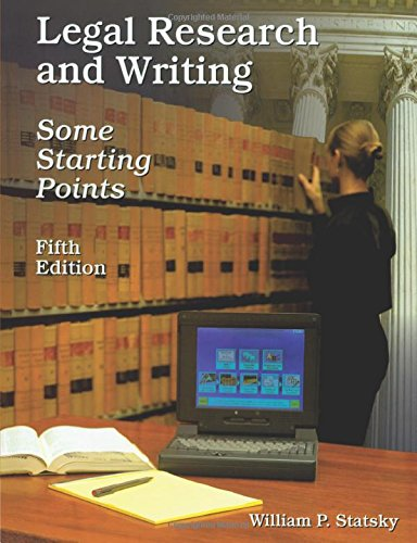 9780314129017: Legal Research and Writing