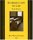 9780314129383: Introduction To Law