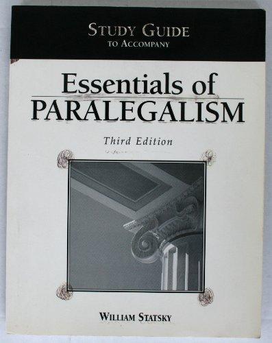 9780314130242: Essentials of Paralegalism