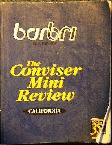 The Conviser Mini Review, California (Barbri): Barbri Bar Review