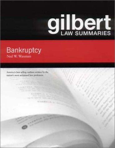 9780314143402: Gilbert Law Summaries on Bankruptcy