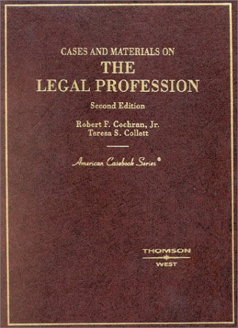 Cochran and Collett Cases and Materials on: Cochran Jr., Robert,