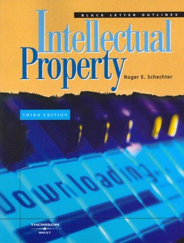9780314147387: Black Letter Outline on Intellectual Property (Black Letter Outlines)