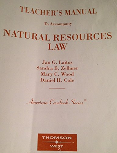 9780314147646: Natural Resources Law