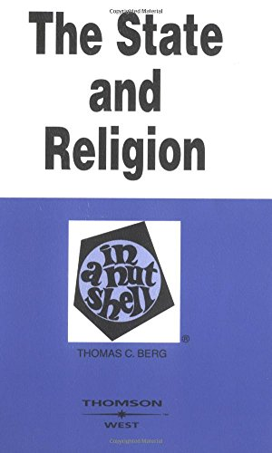 9780314148858: State And Religion In A Nutshell