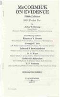 9780314148988: McCormick on Evidence 2003 (Nutshell)