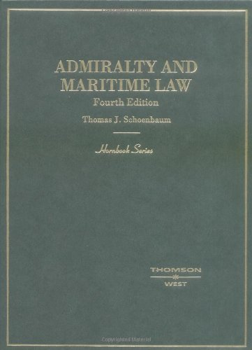 9780314149046: Admiralty and Maritime Law (HORNBOOK SERIES STUDENT EDITION)