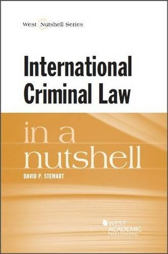 9780314149923: International Criminal Law in a Nutshell