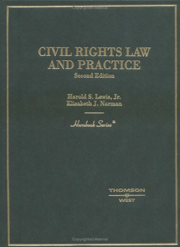 9780314150110: Civil Rights Law and Practice (Hornbook)