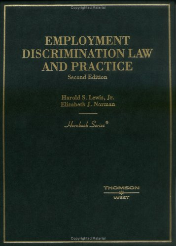 9780314150127: Employment Discrimination Law And Practice