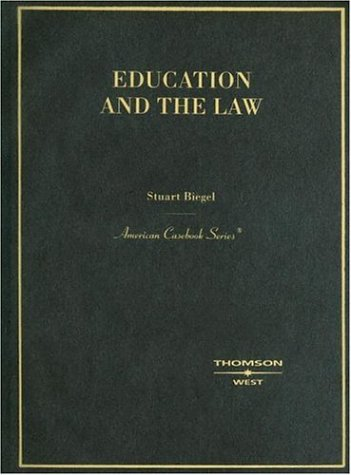 9780314150479: Education and the Law (American Casebook Series)
