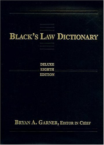 9780314152343: Black's Law Dictionary: Deluxe Thumb-Index