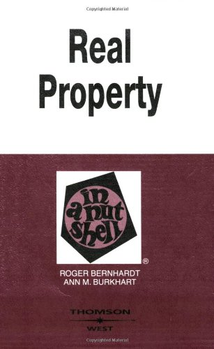 9780314153104: Real Property in a Nutshell (In a Nutshell (West Publishing))