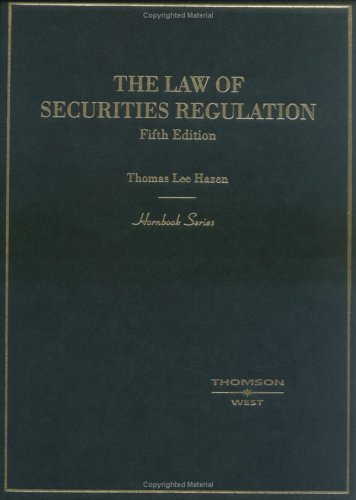 9780314155467: The Law of Securities Regulation, Fifth Edition
