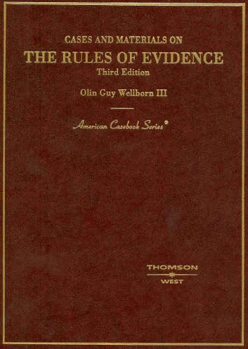 9780314155603: Cases and Materials on the Rules of Evidence (American Casebook Series)