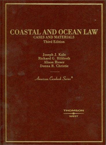 9780314156204: Coastal and Ocean Law (American Casebook Series)