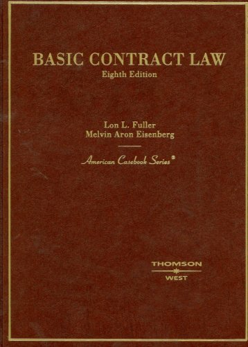 9780314159014: Basic Contract Law (American Casebooks) (American Casebook Series)