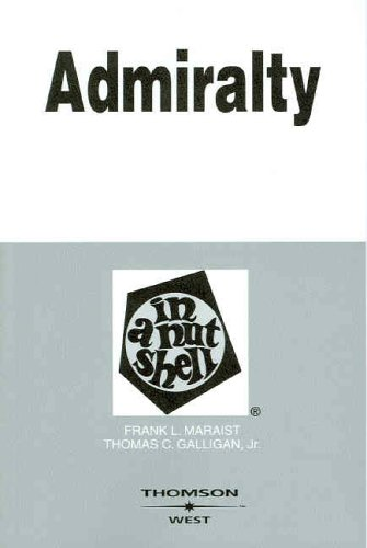 9780314159687: Admiralty in a Nutshell, 5th (Nutshell Series)