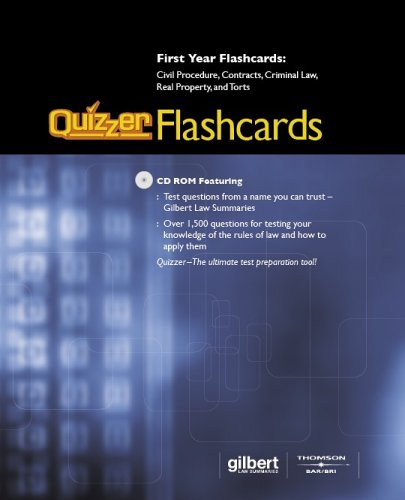 Gilbert Law Summaries: Quizzer Flashcards: Summaries, Gilbert Law