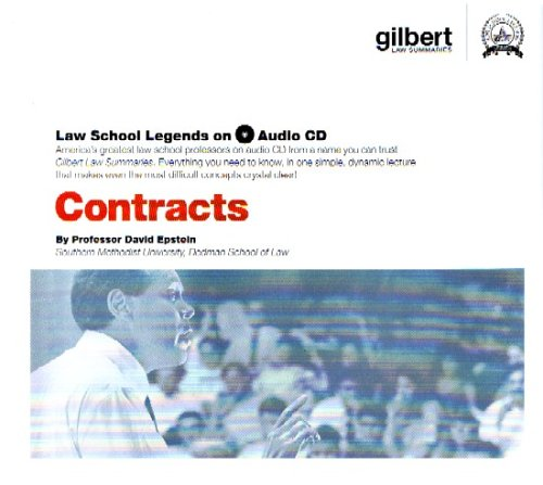 Law School Legends Contracts (Law School Legends Audio Series) (0314160841) by David Epstein