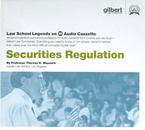 9780314161130: Securities Regulation (Law School Legends Audio Series)