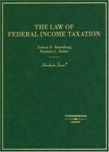 9780314161338: The Law of Federal Income Taxation (Hornbooks)