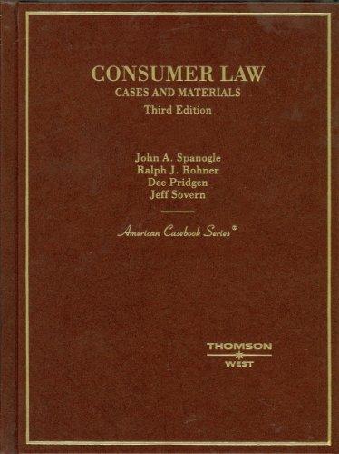 9780314161529: Consumer Law (English and English Edition)