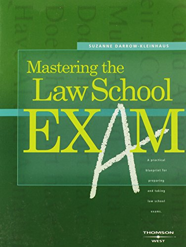 9780314162816: Mastering the Law School Exam (Career Guides)