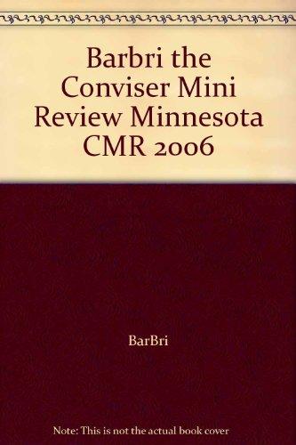 Barbri the Conviser Mini Review Minnesota CMR: BarBri