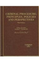 9780314166654: Criminal Procedure: Principles, Policies and Perspectives (American Casebook Series)