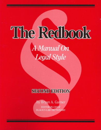 9780314168917: The Redbook: A Manual on Legal Style (2d Ed.)