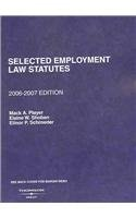 9780314172198: Selected Employment Law Statutes (Selected Statutes)