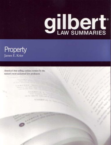 9780314172334: Gilbert Law Summaries on Property, 17th