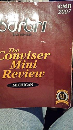 BarBri The Conviser Mini Review Michigan 2007: Thomson