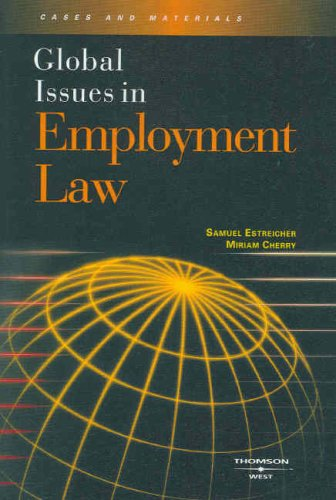 9780314179524: Global Issues in Employment Law