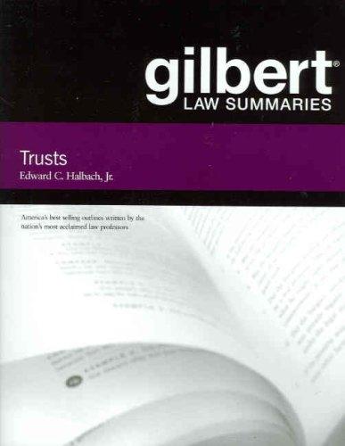9780314181121: Gilbert Law Summaries on Trusts