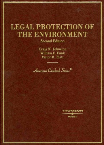 9780314181251: Legal Protection of the Environment (American Casebooks)