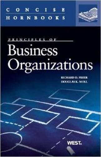 9780314181336: Business Organizations (Concise Hornbook Series)